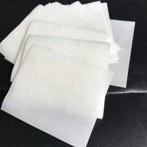 Suministros globos Ronda Partido Craft punto de adhesión Pega Adjunto Dot Adjuntar Portabilidad piezas adhesivas de doble cara pegatinas de cinta 0 2yj Ff