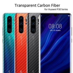 3 Pieces a lot Carbon Fiber Film for Huawei P30 Pro Lite P20 Pro Lite Screen Protector Back Carbon Fiber Sticker for Huawei Mate 30 Pro Lite