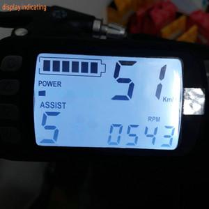 BLDC moteur controller36v48v24v400w450w21A max 26A + affichage à cristaux liquides vélo électrique pièces de scooters accessoire avec frein EBS mtb compteur de vitesse ATV