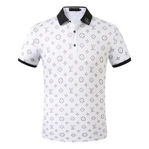 Hommes Femmes Marque Polos 2020 Eté Nouveau Femmes Hommes Designer Fashion Lettre hommes Polos luxe T-shirts respirants Vêtements Hommes Polos # 68