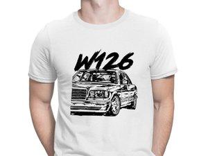 W126 Tshirts Mizah 2020 Büyük Kıyafet Tişört İçin Erkekler tasarlama HipHop Spor Anlarach O-Boyun