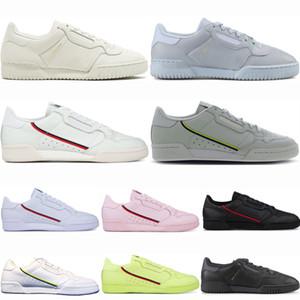 adidas boost Powerphase Calabasas 80 2019 Мужская обувь Calabasas Powerphase Grey Continental 80 Повседневная обувь Женская розовый синий Основной черный OG белая Спортивная