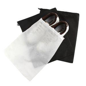 Borsa portaoggetti non tessuta riutilizzabile copriscarpe con custodia con coulisse traspirante a prova di polvere pacchetto di articoli vari strumento per la casa RRA1923
