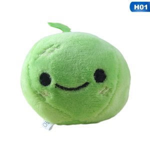 Bag Keychain Accessories Green Apple Radish Decoration Children Plush Toys Children Small Mini Plush Toy
