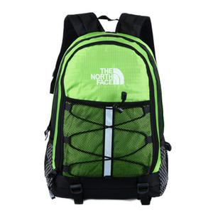 Primera marca con mochilas unisex del Norte hombro bolsa de viaje Deportes Duffle cara Schoolbags NF gran capacidad mochila de nylon totalizadores 9color