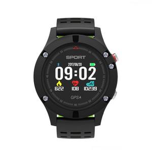 GYKZ deporte impermeable Nueva Pulsera F5 pista de fitness monitor de ritmo cardíaco del pulso del medidor al aire libre profesional SmartWatch