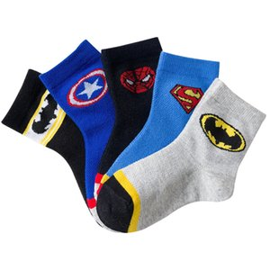 2020 New Spring Summer Boys Socks Cotton Mesh breathable Cool Cartoon Children Socks 1-12 Years Girls Kids Socks 5 pairs lot