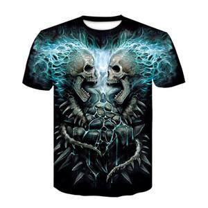 New Design t shirt men women heavy metal grim Reaper Skull 3D printed t-shirts casual Harajuku style tshirt streetwear tops