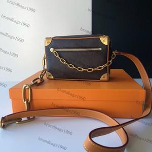 Цепная сумка женщины тотализаторы холст натуральная кожа леди коробка сумка телефон кошелек модные сумки новая сумка Сумка оптом Бесплатная доставка 68906