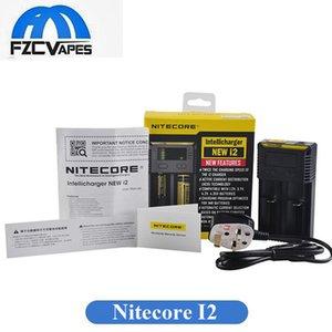 Аутентичные Nitecore I2 зарядное устройство новая версия 1000мА 18650 18350 14500 аккумулятор двойной залив зарядное устройство с новыми возможностями бесплатные DHL
