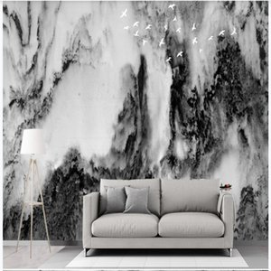 Custom wallpapers modern wallpaper for living room Modern new Chinese landscape wallpapers background wall