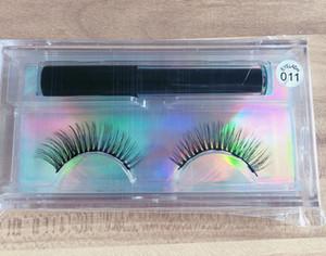 Magnetic Eyeliner With Magnetic Eyelashes Kit Long Lasting Waterproof False Eyelashes 30 sets free shipping DHL