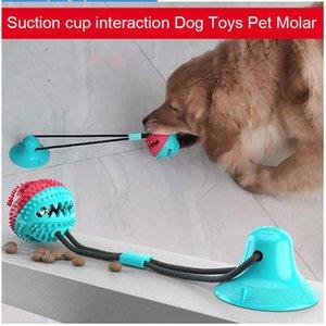 Mascota perro de juguete lechón molar alimentos para mascotas molar tirón pelota de goma lechón perro de la familia juguete mordedura