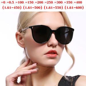 2019 Ricetta -1,0 a -6.0 finiti polarizzati miopia degli occhiali da sole donne farfalla miope Ottica Diamante Occhiali NX