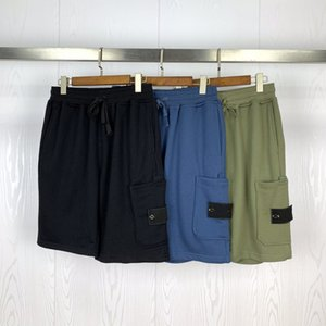 Mens di alta qualità Stylist pantaloncini neri i pantaloni casuali dei pantaloni della spiaggia estate Mens Stylist Shorts 3 colori