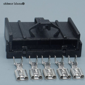 shhworldsea Auto 5 Pin 4.8mm автомобиля Женский Harness Connector DJ7052A-4.8-21 Auto Wire Connector