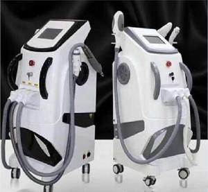 2020 새로운 360 광 자기 전문 OPT SHR E 빛 IPL RF 노스 다코타 YAG 레이저 머리 제거 문신 제거 살롱 사용 다기능 기계