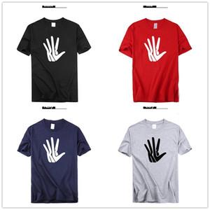 Mens designer T camisas 2019 Kawhi Leonard Grande palma Logotipo Basquete Camisas Mãos Remendos Fãs Tops Tees Impresso Marca de moda de luxo engraçado