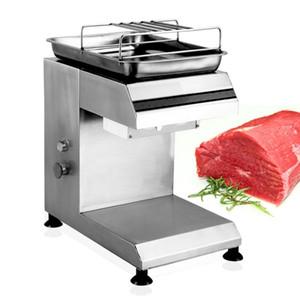 550 W multi-função de aço inoxidável 304 máquina de corte de carne Slicer Comercial Desktop Automatic máquina de cubos elétrica