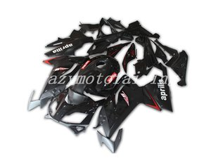 4Gifts New ABS moto de moulage par injection carénages Kits 100% Fit Pour Aprilia RS125 06 07 08 09 10 11 2006-2011 carrosserie PREF noir