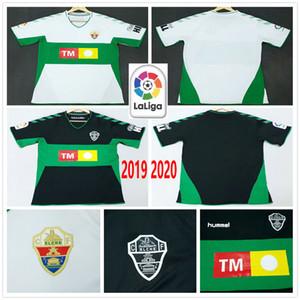 2020 CF Elche 2019 Soccer Jerseys Lolo Ivan Sanchez S. Dani Calvo Ramon Kaba Folch Ferriz personnalisé 19 20 Domicile Extérieur Football shirt
