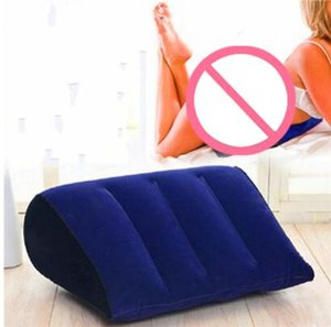 Inflável amor Pillow Sex Aid Wedge Posição Almofada Sexy Móveis Erótico Wedge Adulto Magic Love Jogos Brinquedos Casais Travesseiro
