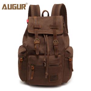 AUGUR новая мода мужская рюкзак старинные холст рюкзак школа Сумка мужская дорожные сумки большой емкости путешествия ноутбук рюкзак сумка