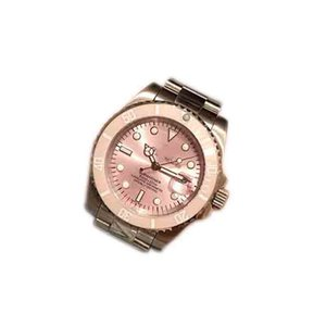 senhoras Rolex de luxo designer da marca de moda de luxo assistir relógio mecânico relógio superior série fantasma água-de-rosa 316 aço mirro correia mineral automática