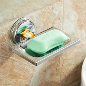 패션 가정용 비누 접시 흡입 벽 홀더 욕실 샤워 컵 스폰지 접시 바구니 트레이 새로운