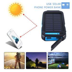 Caricatore del pannello solare Banca mobile di potere per il telefono auto Laptop Battery Charger