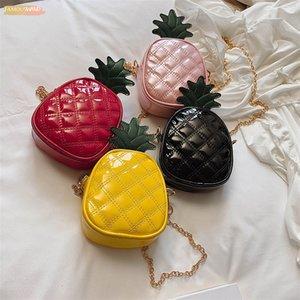 2020 New Pu Fashion Pineapple Crossbody Bags For Women Mini Cute Ladies Purse Pu Leather Female Handbags Small Shouder Bag