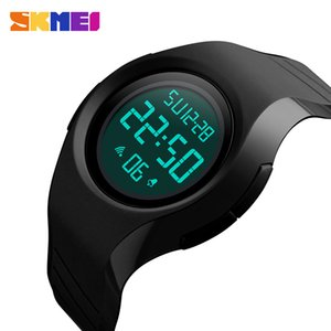SKMEI simples moda Sport Watch Men 5 Bar Waterproof Men Relógios Calendário Display LED Assista Relógio Digital Masculino 1269