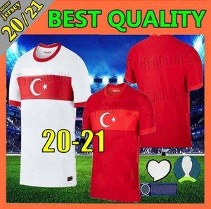 2020 2021 Турция Евро футбол Джерси 20 21 Yazici Caglar Söyüncü Demiral Ozan Kabak Calhanoglu Celik HOMA aWAY футбольные рубашки Таиланд xxl