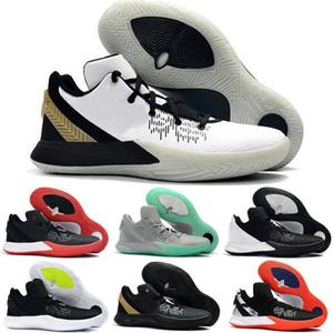 En kaliteli Kyrie Flytrap 2 Playoff Düşük Aşınmaya Dayanıklı Basketbol Ayakkabıları Erkek Spor Ayakkabı Yalınayak terminatör 5 Sneakers Boyutu 40-46
