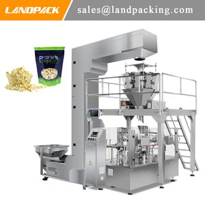 Multihead Linear Weigher Popcorn Stand Up Pouch Filling And Sealing Machine Snack Zipper Packing Machine Sealed Preservation