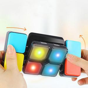Neueste Elektronische Dekomprimierung Variety Music Game Rubiks Cube Kinder Intelligence Development Puzzle Geschenk-Spielwaren mit Kasten Großhandel A424