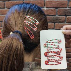 20190825 nouvelle huile de goupille de cheveux de fille cerise imprimant l'huile de carte de cheveux mignons