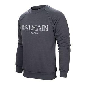 Balmain Sweatshirt Clothing Черный Белый Бег Баскетбол Высокое качество Превосходное качество изготовления Верхняя часть тела работает хорошо