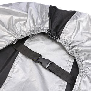 Bike Protective Rain Cover Water Resistant Dustproof UV with KeyholeAdjustable safety buckle is easy to operate
