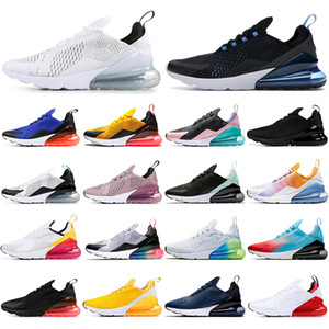 Nike air max 270 react Con calcetines cojín unisex 27c Azul marino diseñadores zapatillas de deporte al aire libre respirables para hombre Entrenadores zapatos corrientes 36-45