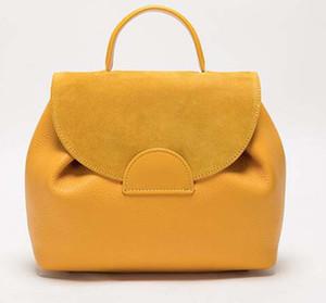 Designer Inspired Paris Luxury 2 Ways Women Bag Cute Handbag Genuine Leather Shoulder Purse Backpack Travel Bag School Book Bag