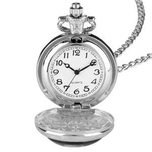 Classic Necklace Pocket Watch for Boyfriend, Loving Quartz Pendant Pocket Watches for Male, Best Gift Pocket Watch for Boyfriend