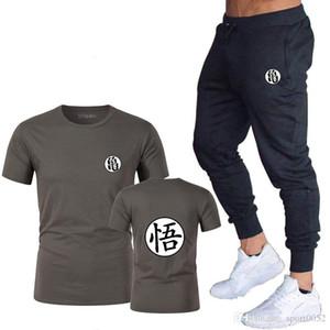 Dragon Ball Master Roshi T-shirt Men's Summer Top Dragon Ball Z Super Son Goku cosplay funny T-shirt anime vegeta T-shirt set