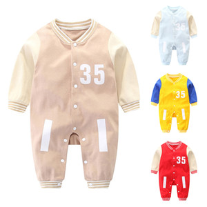 Bambini Lettera Rompere 4 colori Baby Boys and Girls Set Torching Caldissimi caldi Cute Cotton Bambino Bambino abbigliamento per bambini Abbigliamento bambino JY834