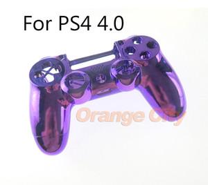 Sony PS4 için yedek Krom Konut Shell Kılıf DUALSHOCK 4 Pro Kontrolör için 4.0 Kablosuz V2 Kontrolörü JDS040 Mod Takımı Kapağı Pro