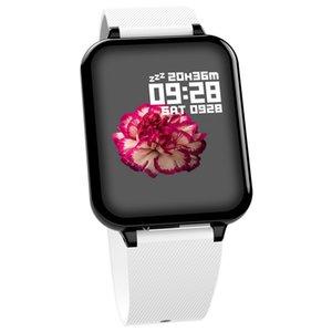 B57 Las mujeres inteligentes relojes deportivos a prueba de agua para las funciones de presión Iphone Teléfono SmartWatch monitor de frecuencia cardiaca de sangre para Kid