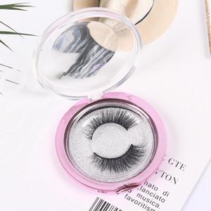 3D Faux Mink ciglia False Protein visone ciglia 3D Silk Lashes Handmade di 100% naturale degli occhi falso Lashes Strumenti Con Confezione Regalo RRA1298