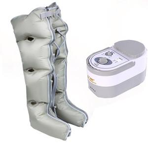 Respirável Air Leg Massager Idosos Pressão automática pneumática Calf Massagem Instrumento Air Wave Therapy Gas pé da máquina