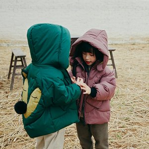 New medium and long children's thickened Warm down jacket warm coat boys' and girls' down jacket
