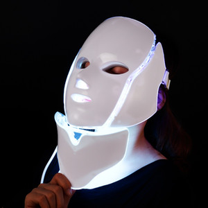 FDA Beauty Machine LED Light Therapy Masque Visage 7 Couleurs Masque facial LED de rajeunissement de la peau